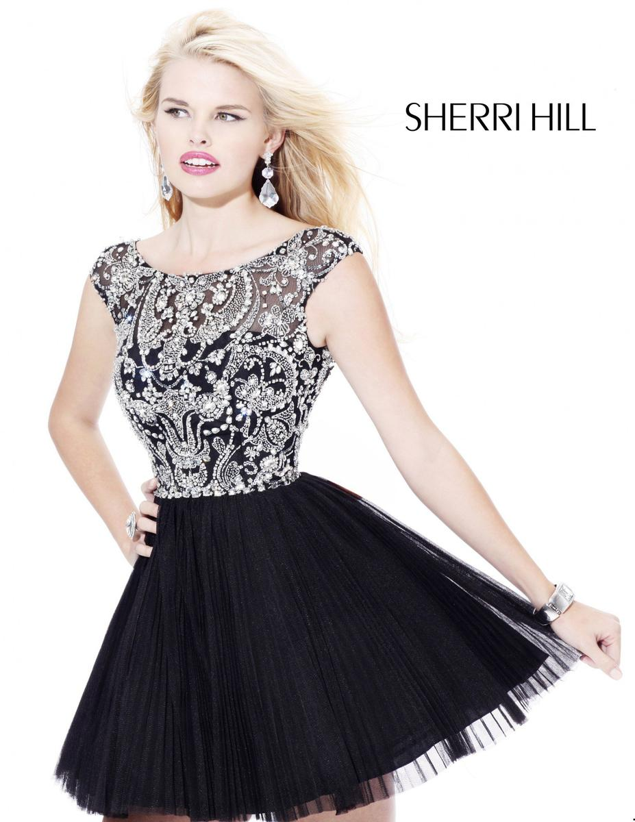 Related Keywords & Suggestions for Sherri Hill Black Prom Dresses 2014