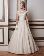 8789 Soutache lace and tulle ball gown comple