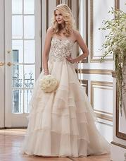 8790 Soutache lace and tulle ball gown comple