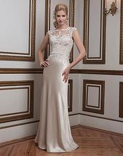 8792 Venice lace and luxe charmeuse straight