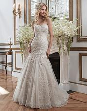 8793 Venice lace, tulle, beaded appliques and