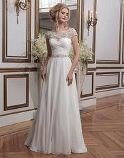 8799 Beaded embroidery and chiffon ball gown