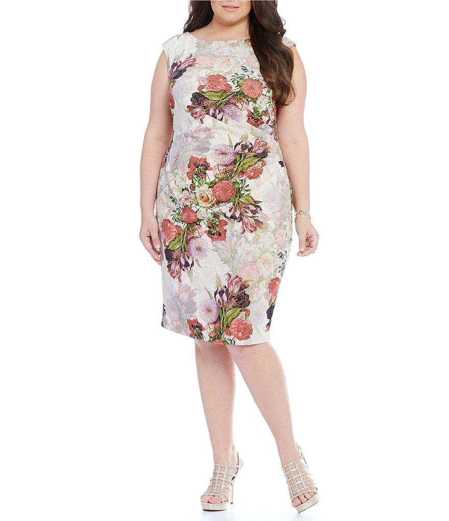 Women's Plus Size Cocktail Dress -  Limited Availability