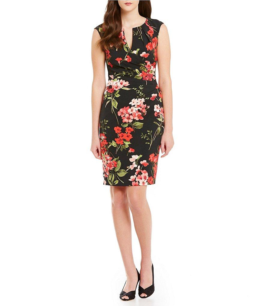 Black Multi Floral Dress -  Limited Availability