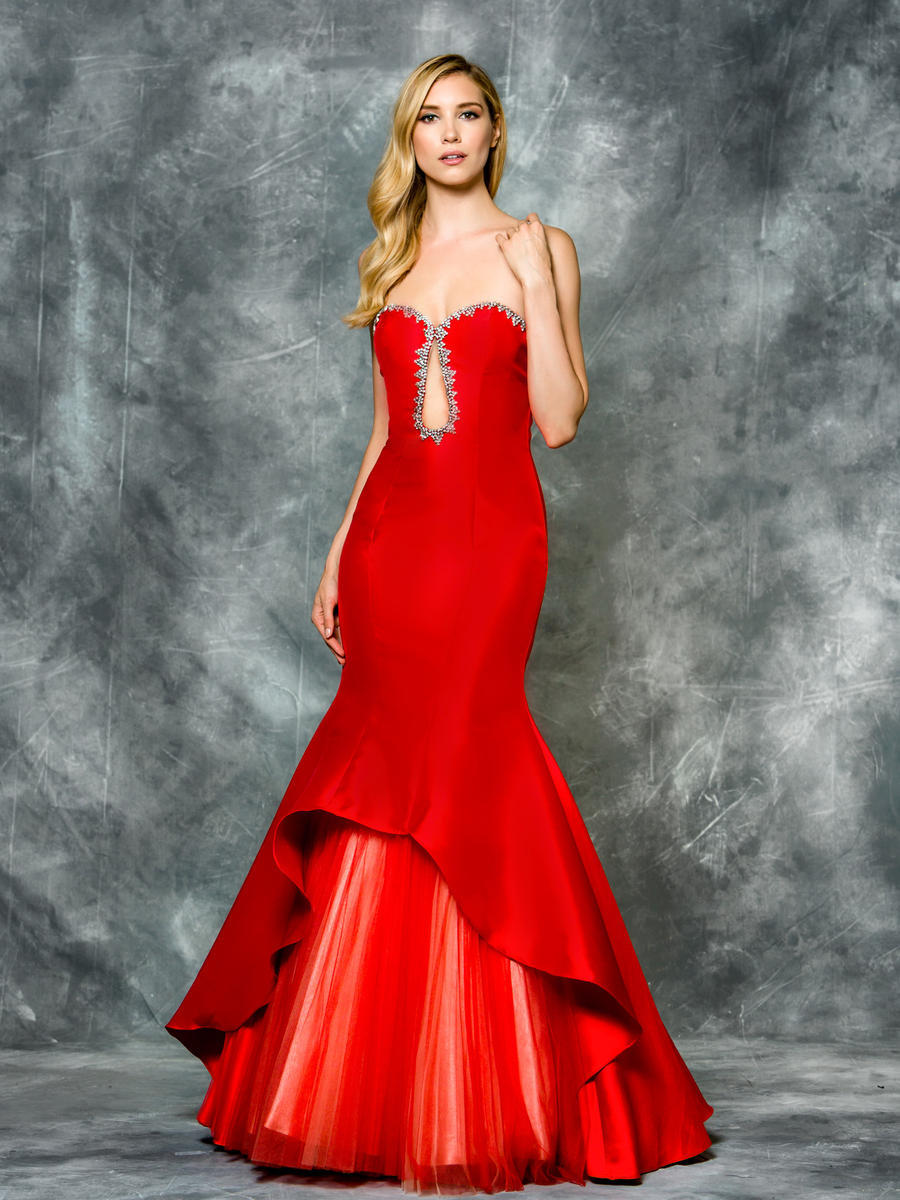 Luxe Collection Straples Evening Gown