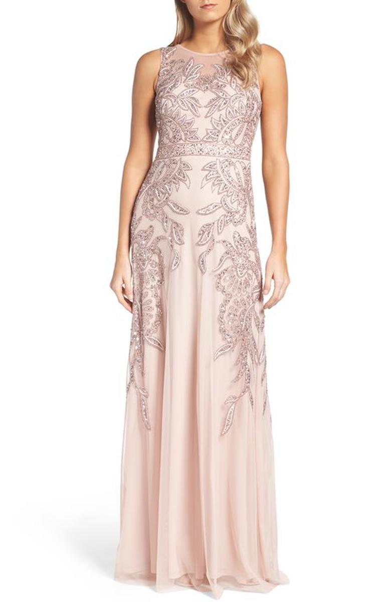 Luxe Collection Plus Size beaded evening gown