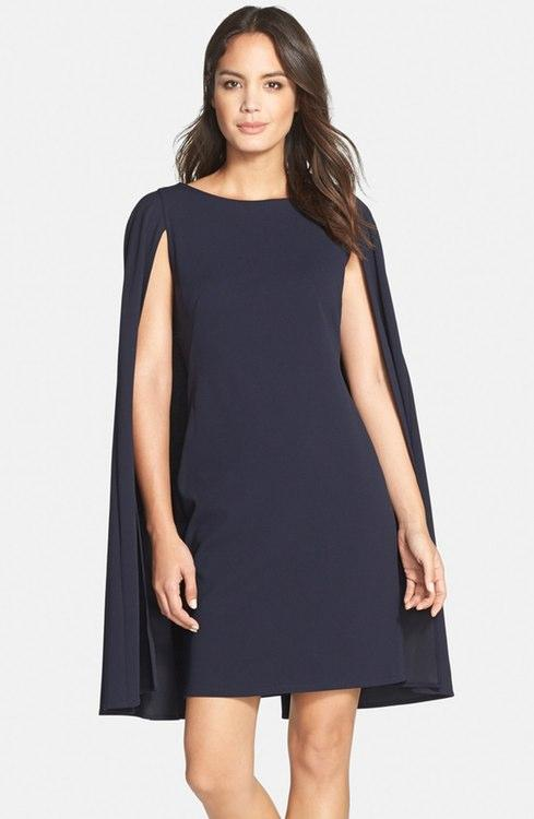Cocktaildress with Cape