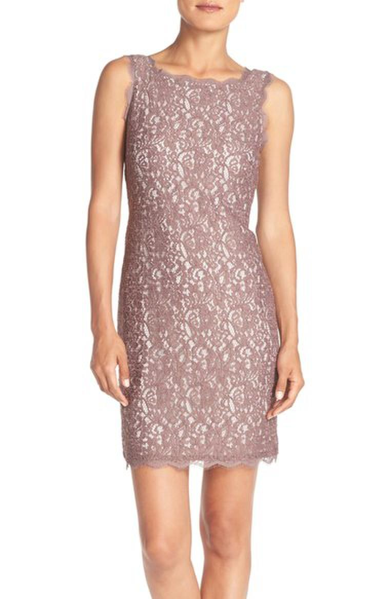 Luxe Collection Sleeveless Lace Dress