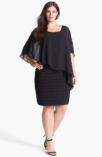 Luxe Collection Black Cocktail Dress