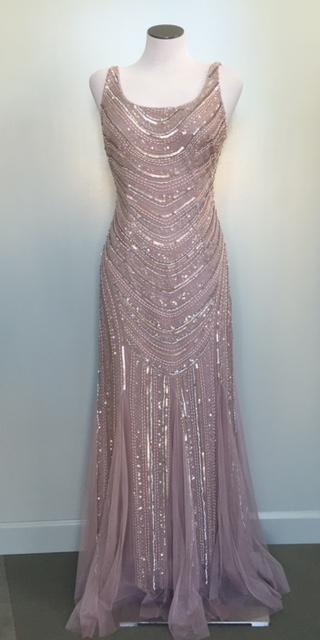 Luxe Collection Vintage Style Beaded Gown