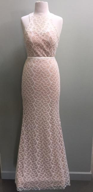 Lace Haler Gown
