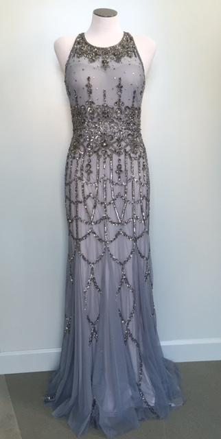 Vintage Style Beaded Evening Gown -   Limited Availability