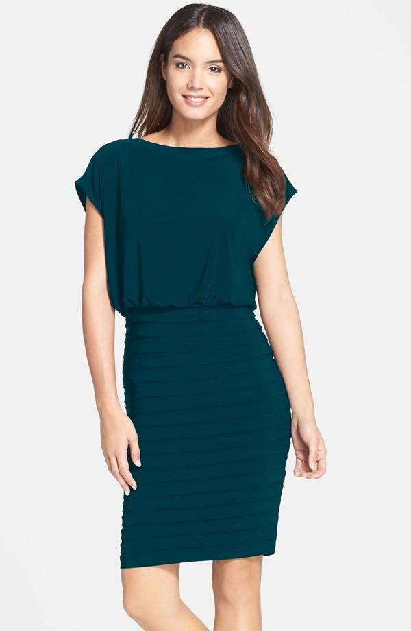 Teal Pop Over Dress -  Limited Availability