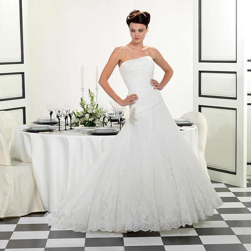 Organza/Soft Tulle/Beaded Corded Lace