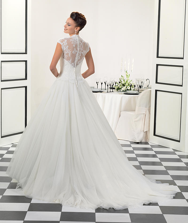 Corded Chantilly Lace/Tulle