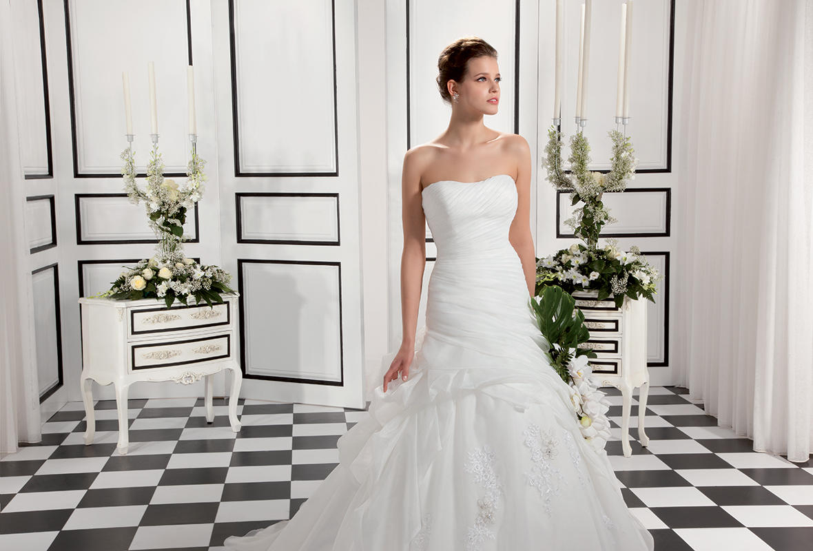 Organza/Beaded Venice Appliques over Soft Tulle