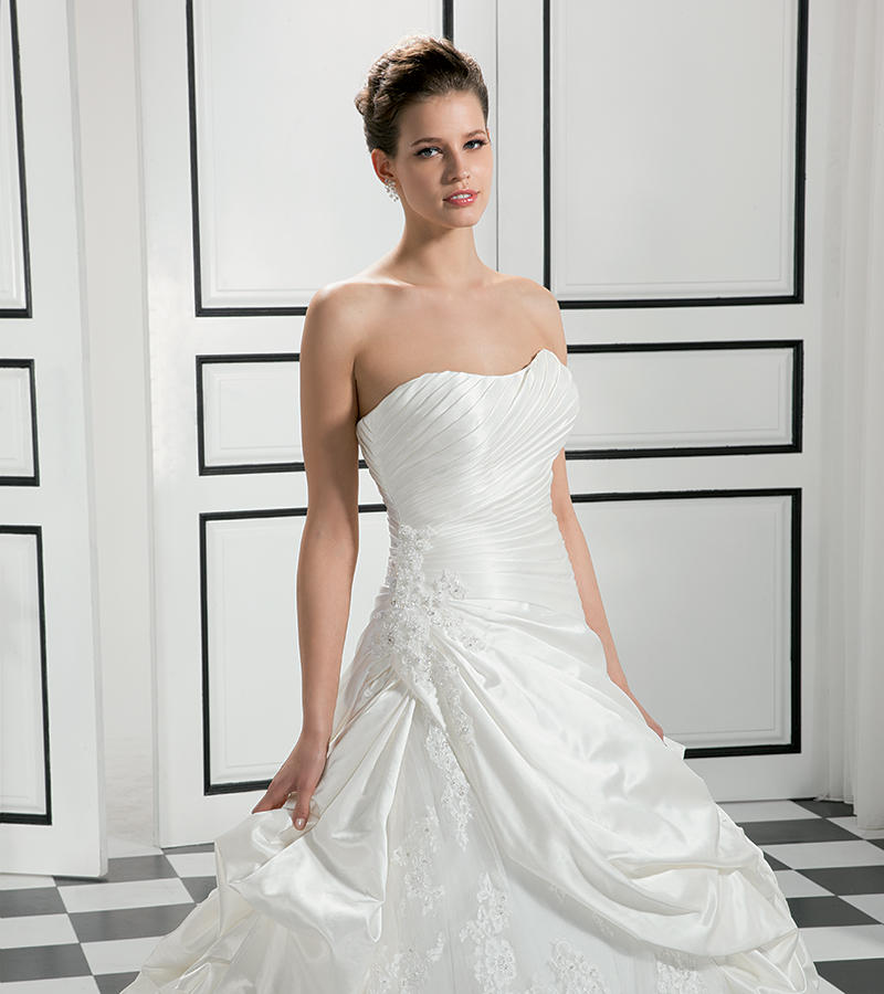 Satin/Beaded Corded Lace