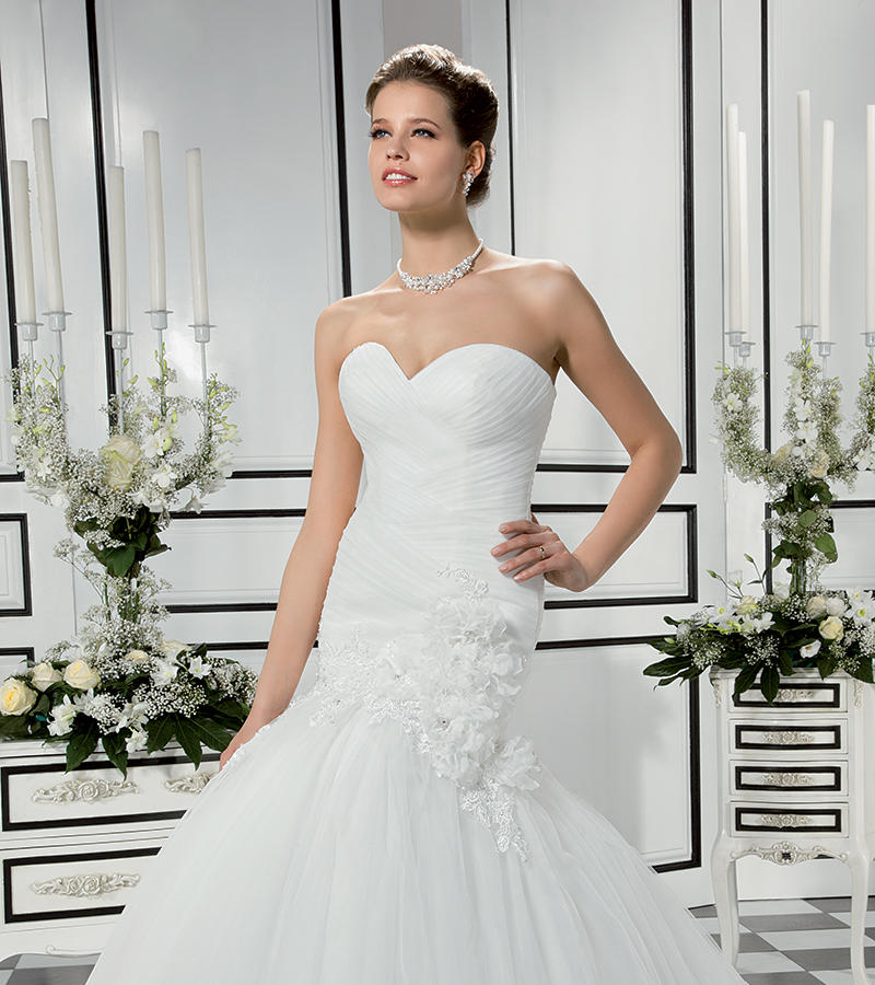Soft Tulle/Beaded Venice Lace