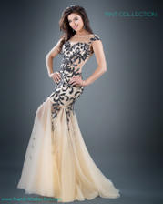 Jovani Prom 926 Jovani gown with embellished appliqu� fe