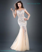 926 Jovani gown with embellished appliqu� fe