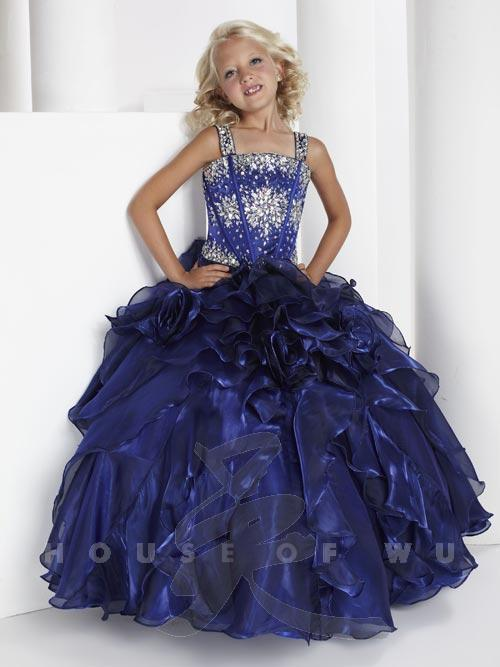 Young Pageant Ball Gown