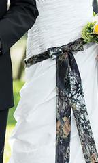 Camo Sash Camouflage Dress Belt