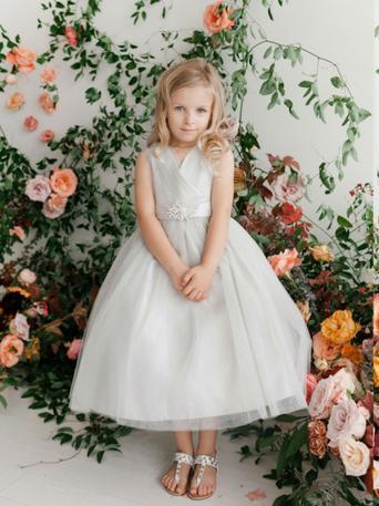5698 Tip Top Flower Girl Dress Blossoms Bridal & Formal Dress Store
