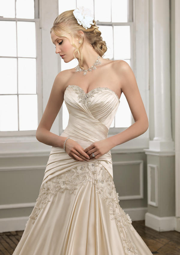 Mori Lee Bridal Gown