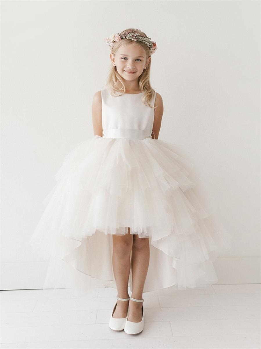 Flower girl dress by tip top blossoms bridal formal dress store tip top flower girl ombrellifo Images