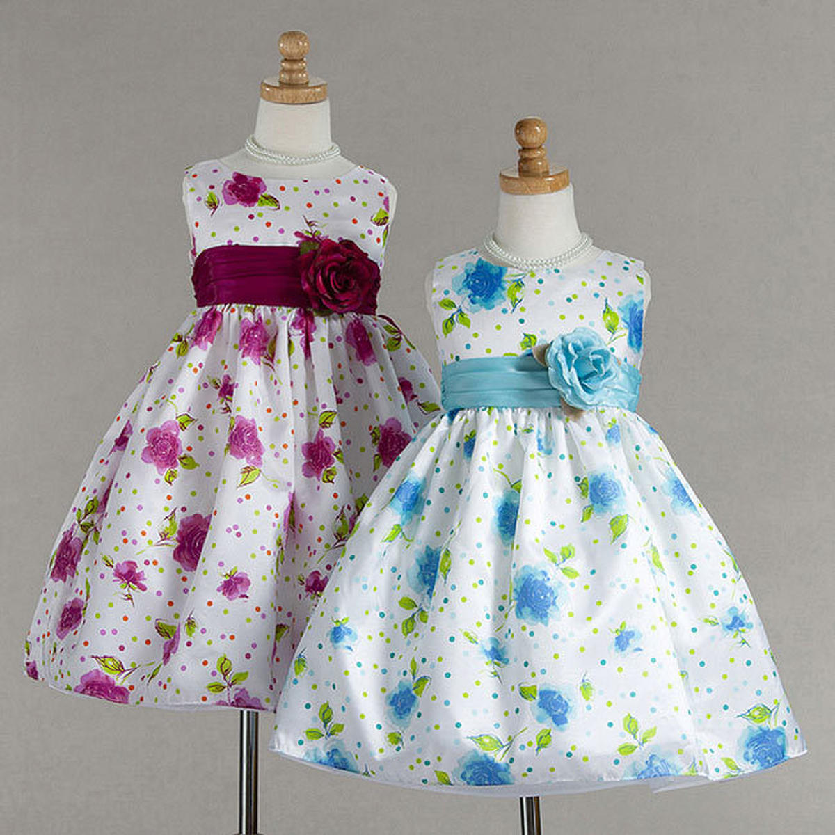 Crayon Kids Flower Girl Dress