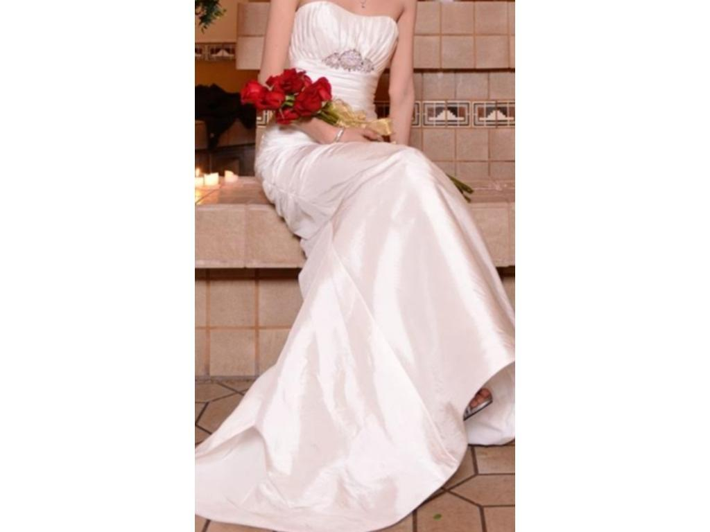 Mori Lee Wedding dress trumpet, corset lace up back , sweet heart