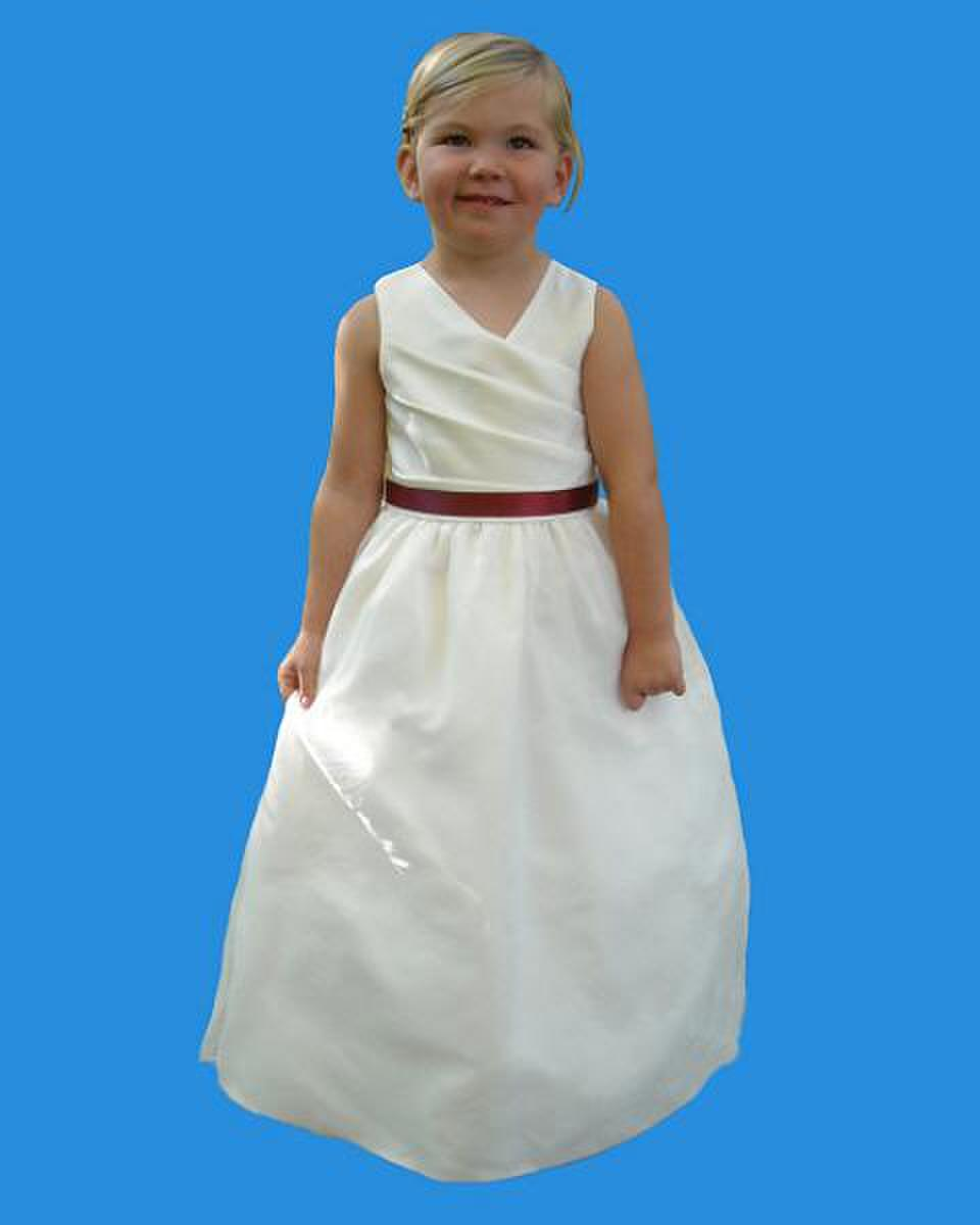 Rosebud Fashions flower girl dress