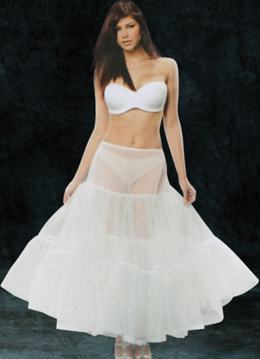 Sheer Drawstring Petticoat
