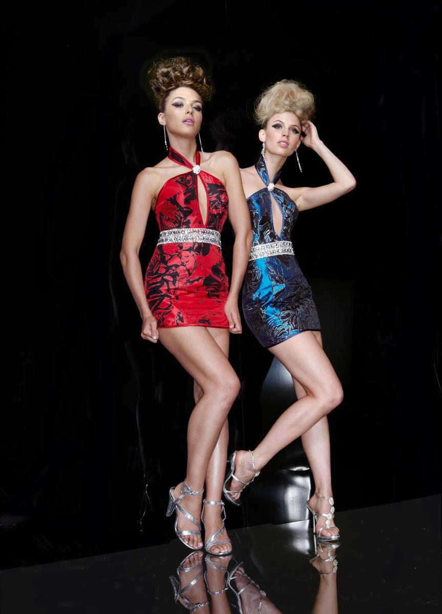 X Treme Short Dress 4448 Reg $228.00 SALE