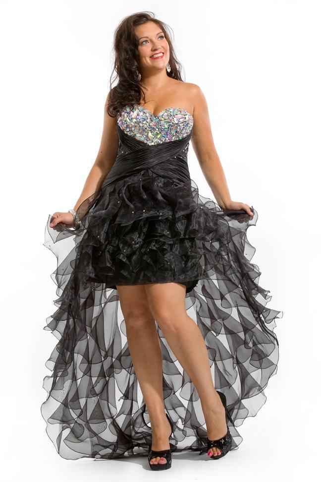 Rachel Allan Plus Size Prom 6252