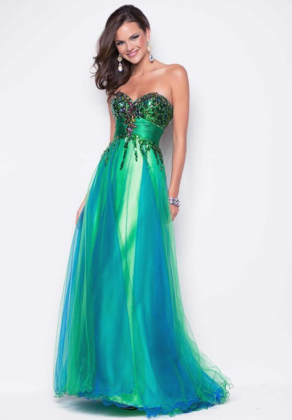 Blush Prom Dress 9542