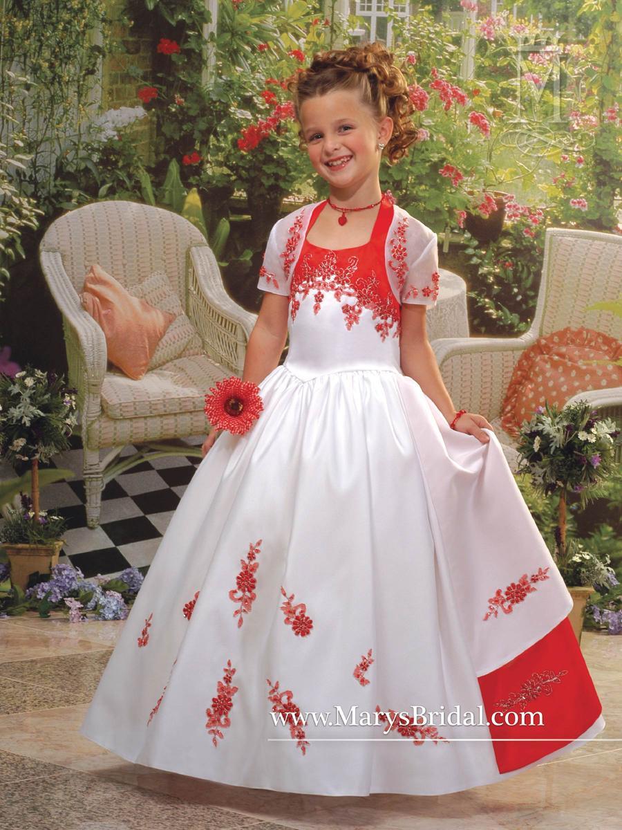 mary's flower girl dress