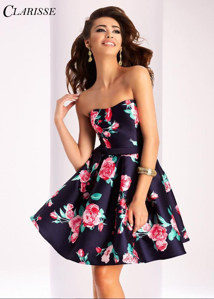 Short Floral Clarisse 2017