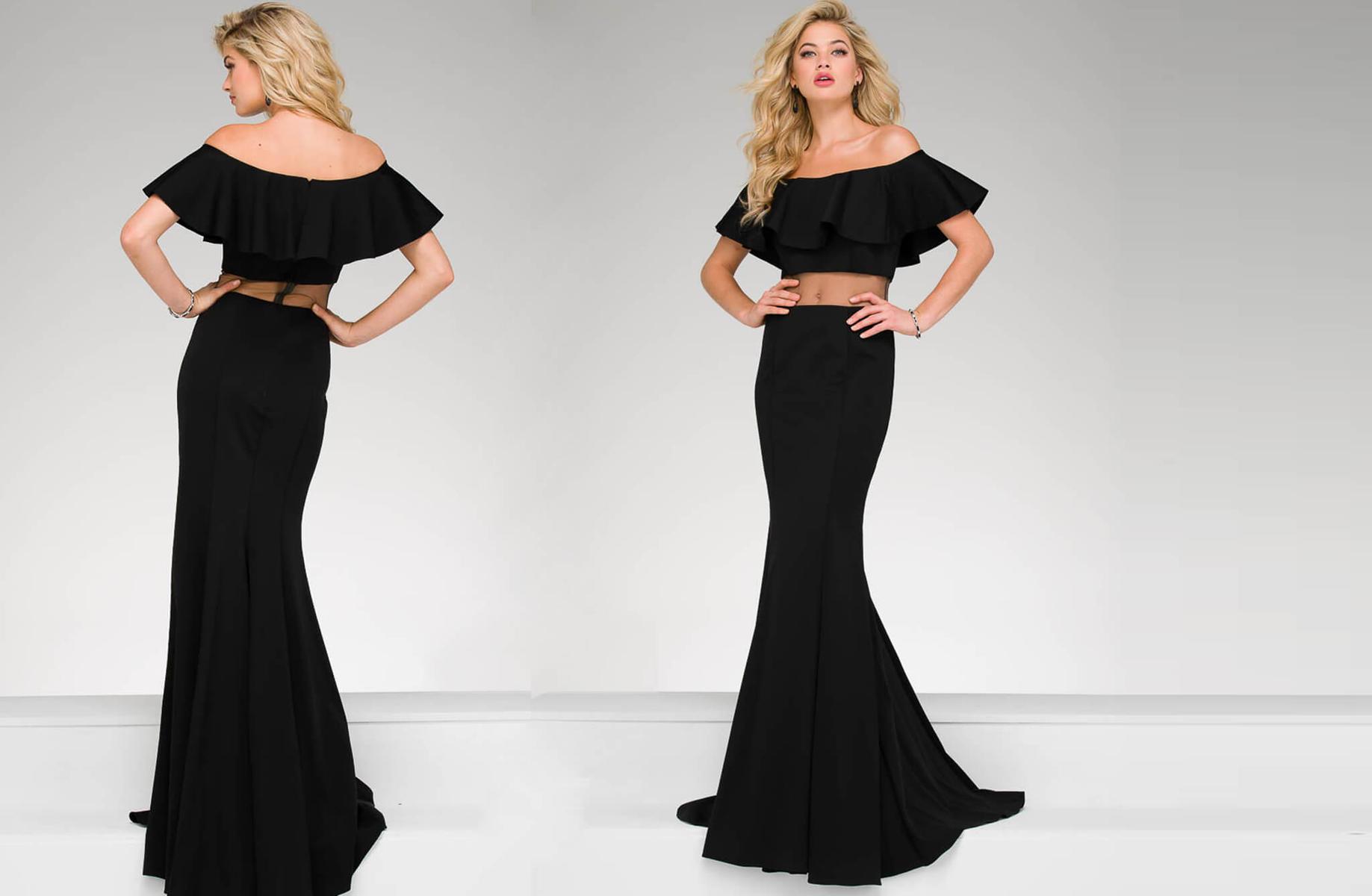 Jovani 2-piece illusion dress