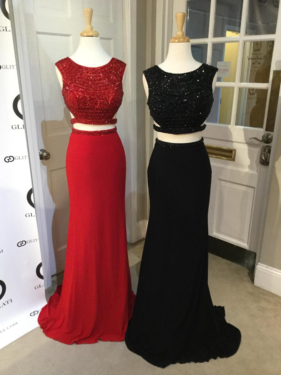 Sherri Hill Cutout Dress