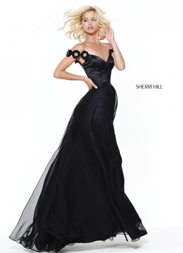 Sherri Hill Chiffon Dress