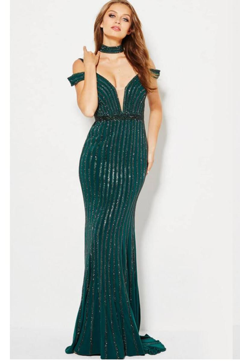 Jovani Long Beaded dress