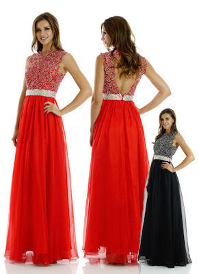 POL Belted Gown