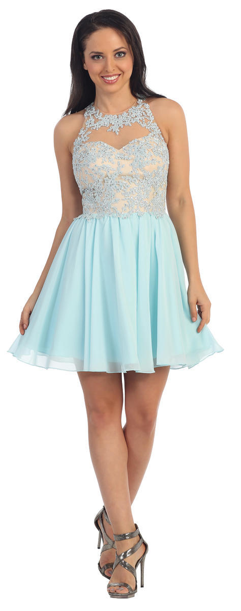 DQ Lace Short Dress
