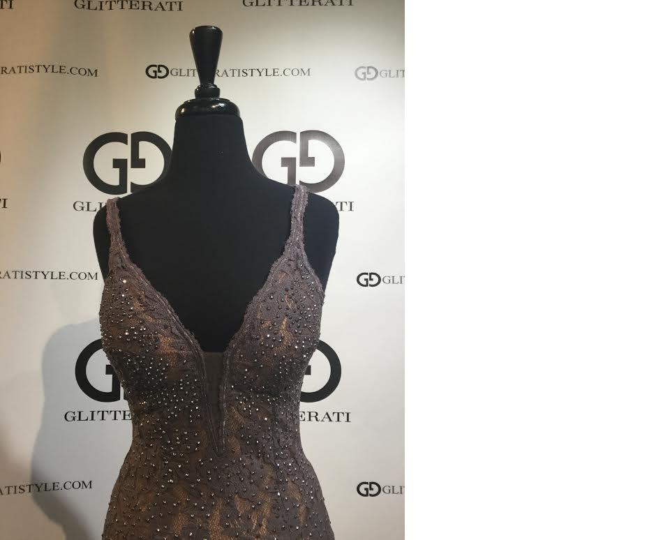Glitterati Exclusive - Jovani Lace Dress