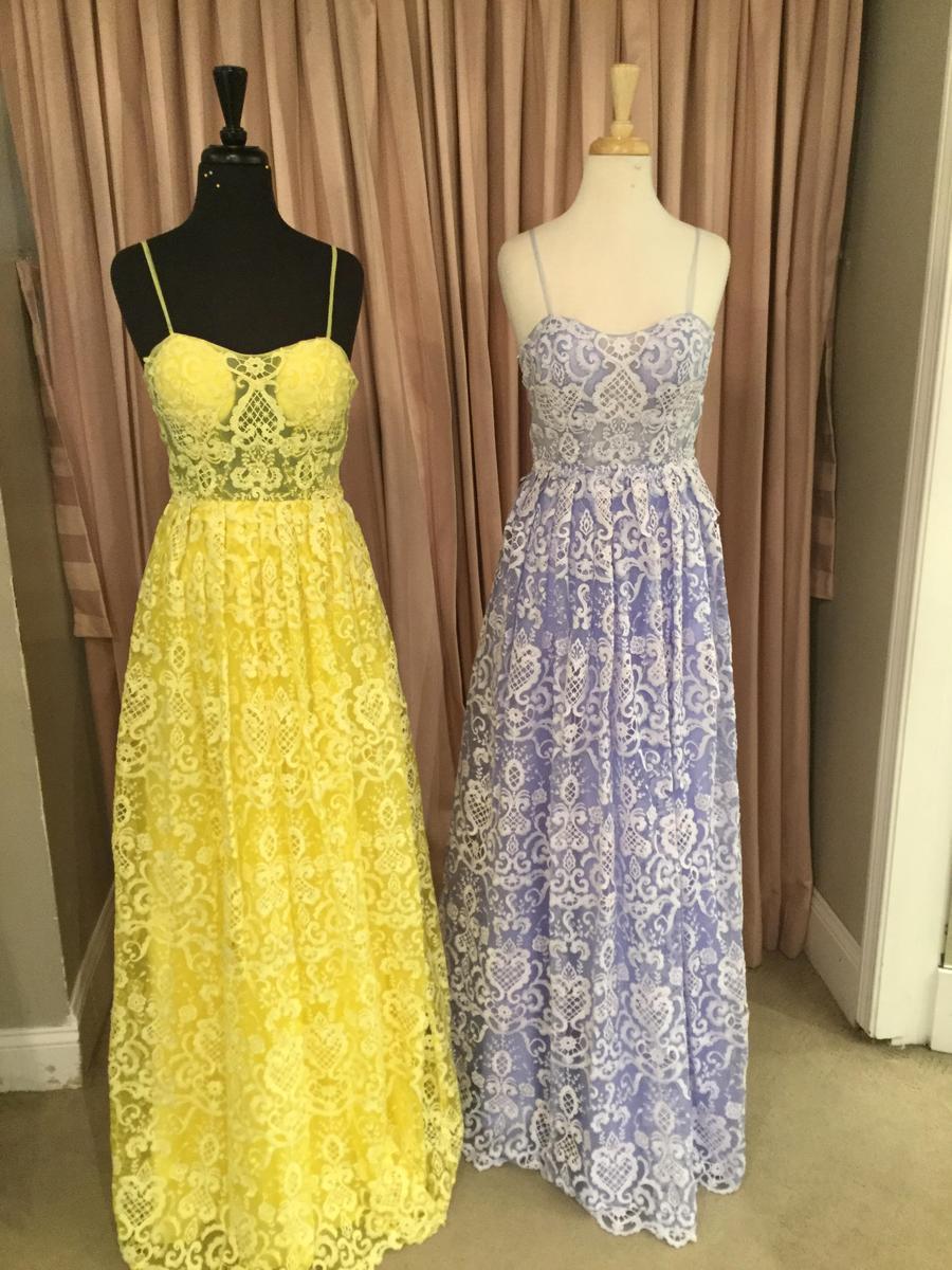 Glitterati Exclusive Lace Jovani Dress