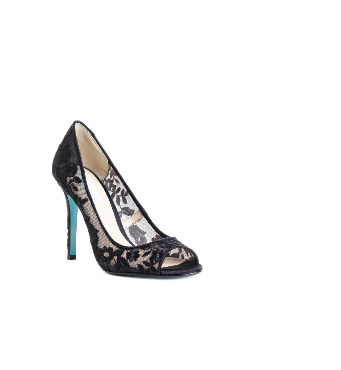 Embroidered Evening Pumps
