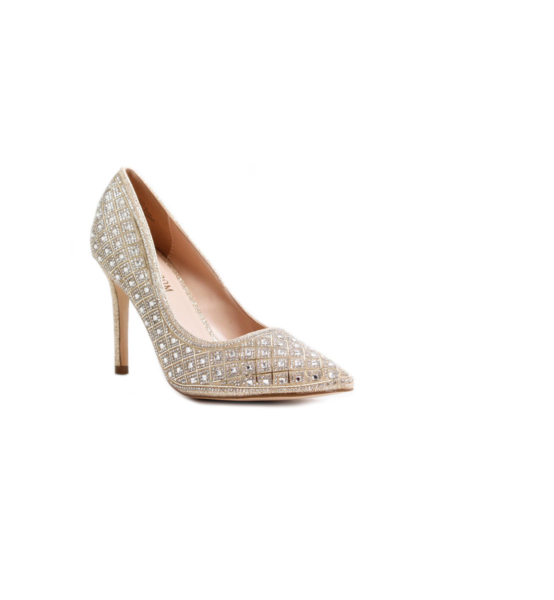 High Heel Rhinestone Pointy Pump