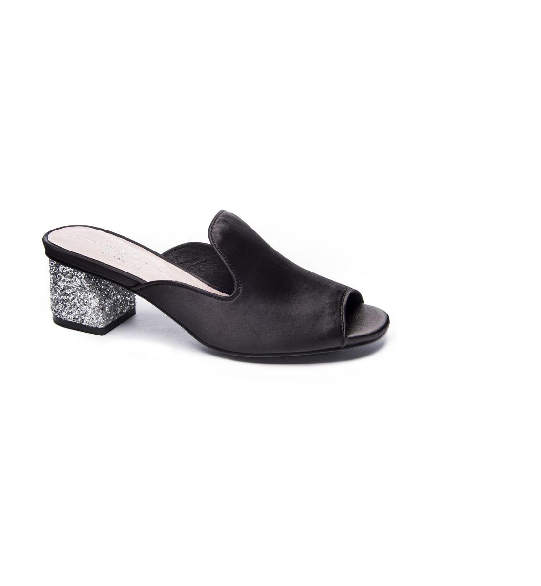 Pee-Toe Slide Glitter Heel