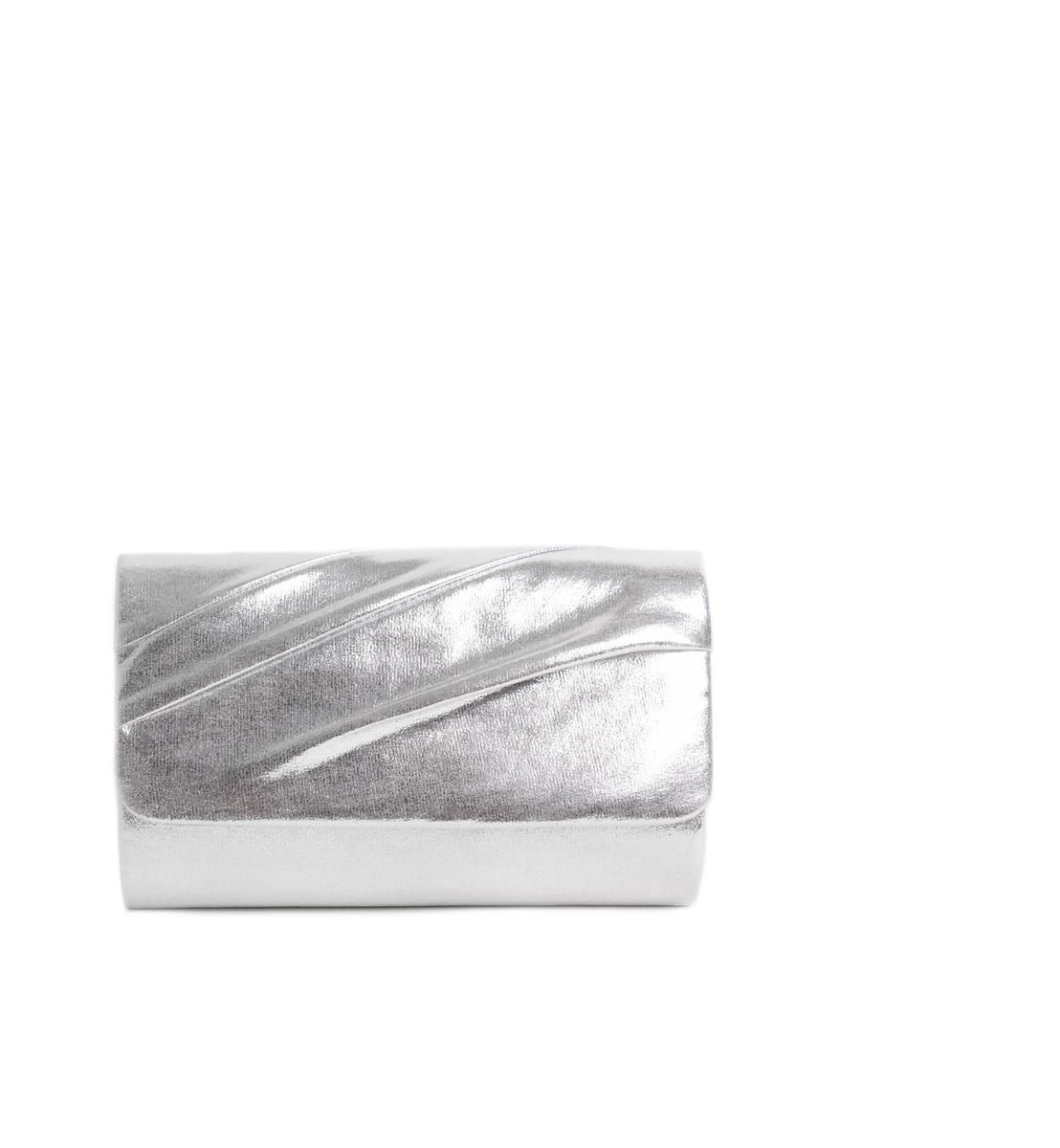 Glitter Metallic Clutch